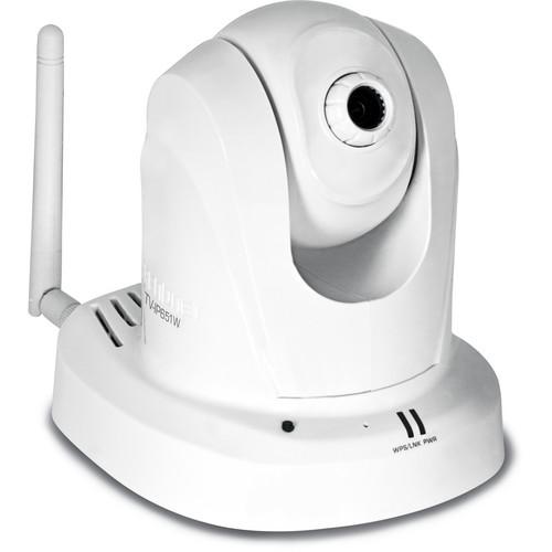 TRENDnet TV-IP651W Wireless N PTZ Internet Indoor Camera