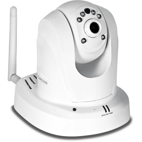 TRENDnet TV-IP672WI Megapixel Wireless N Day/Night PTZ Internet Indoor Camera