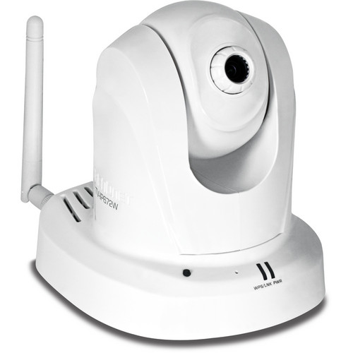 TRENDnet TV-IP672W Megapixel Wireless N PTZ Internet Indoor Camera