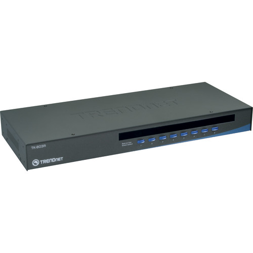 TRENDnet 8-Port USB/PS/2 Rack Mount KVM Switch