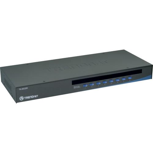 TRENDnet 8-Port USB/PS/2 Rack Mount KVM Switch