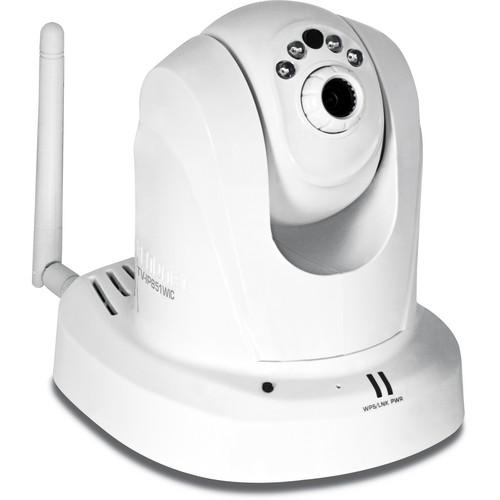 TRENDnet TV-IP851WIC Wireless Day & Night PTZ Cloud IP Camera