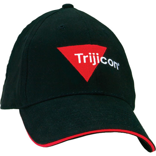 Trijicon Baseball Cap with Embroidered Logo (Black)