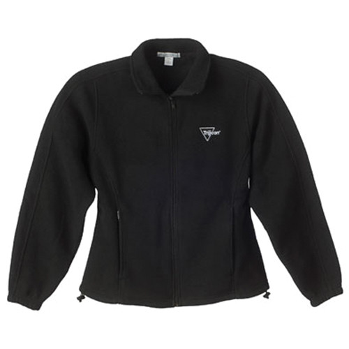 Trijicon Black Fleece Full-Zip Women's Jacket w/Trijicon Logo