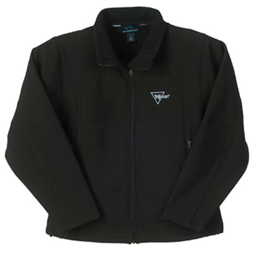 Trijicon Black Soft Shell Lined Women's Jacket w/Trijicon Logo