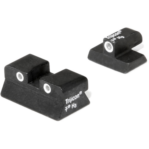 Trijicon Browning Hi-Power 3 Dot Bright & Tough Night Sight Set
