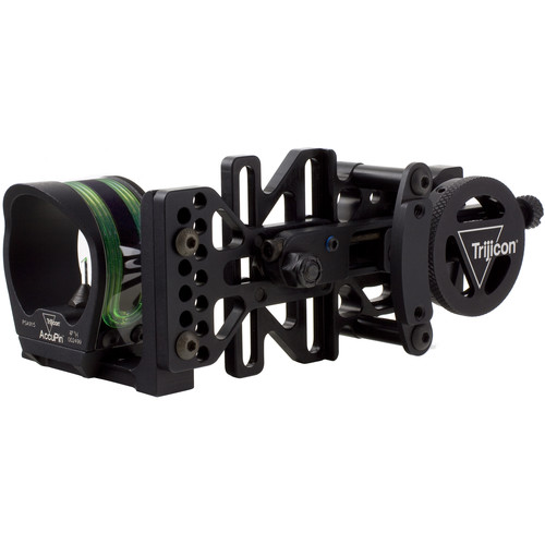 Trijicon AccuPin Bow Sight with AccuDial Mount (Left Handed)