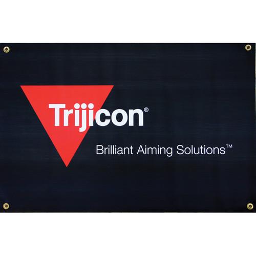 Trijicon PR49 Indoor Vinyl 2/C Logo Banner with Grommets