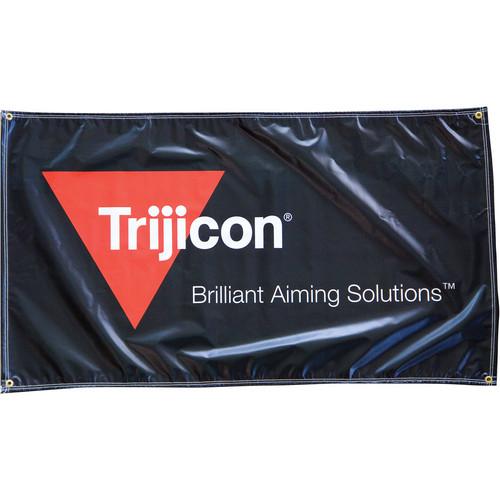 Trijicon PR50 Outdoor Vinyl 2/C Logo Banner with Rope & Grommets