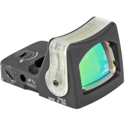 Trijicon RM05 Dual-Illuminated RMR Reflex Sight (9 MOA Amber Reticle, Matte Black)