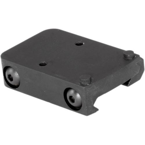 Trijicon Low-Profile Picatinny Rail Mount Adapter for RMR (Matte Black)