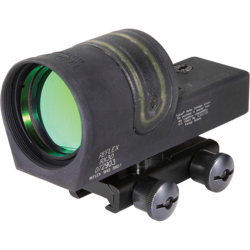 Trijicon 1x42 RX34 Reflex Sight with TA51 Mount (4.5 MOA Amber Dot Reticle)