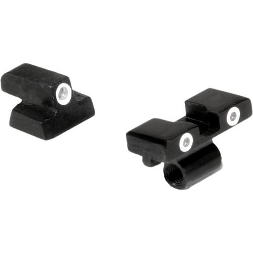 Trijicon Smith & Wesson 10mm / .45 3 Dot Bright & Tough Night Sight Set