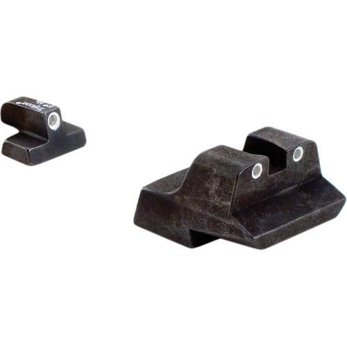 Trijicon Smith & Wesson 10mm 3 Dot Bright & Tough Night Sight Set