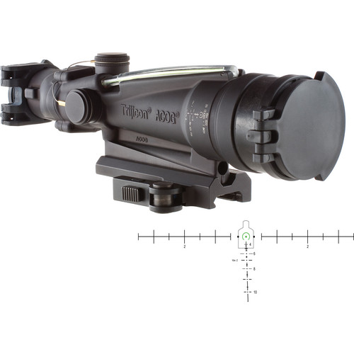 Trijicon 3.5x35 ACOG Machine Gun Optic Riflescope (Matte Black)