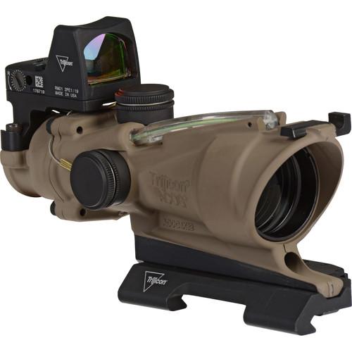Trijicon 4x32 ACOG ECOS Riflescope (Dark Earth Brown)