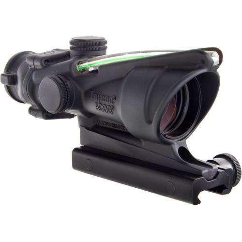 Trijicon 4x32 ACOG Dual-Illuminated Riflescope (Matte Black, Green Crosshair)