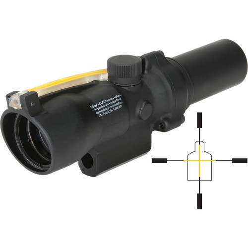 Trijicon 1.5x24 ACOG Riflescope (Matte Black)