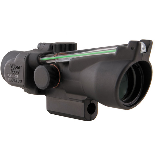 Trijicon TA50G-XB1 ACOG 3 x 24 Crossbow Scope (300 to 340 fps, Matte Black)