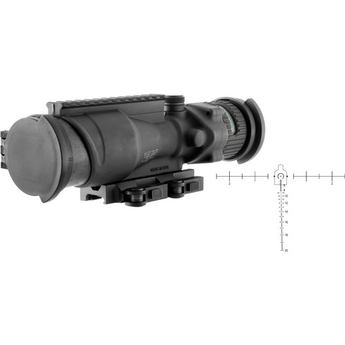 Trijicon 6x48 ACOG Machine Gun Optic Riflescope (Matte Black)