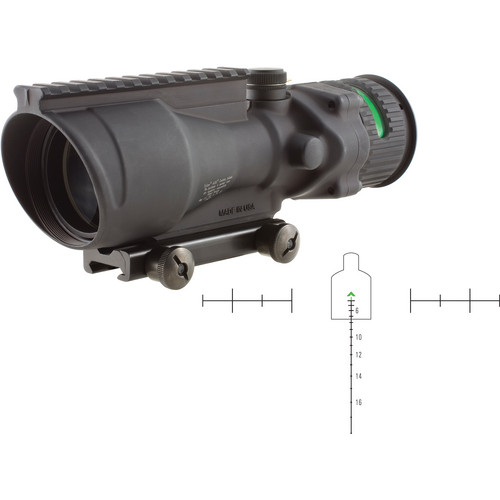 Trijicon 6x48 ACOG Riflescope (Matte Black)