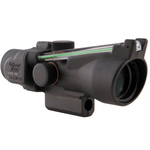 Trijicon TA50G-XB3 ACOG 3 x 24 Crossbow Scope (400 to 440 fps, Matte Black)