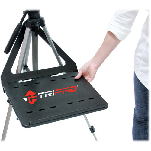 Tripad Tripod Mountable Workspace with Slide-out Extensions