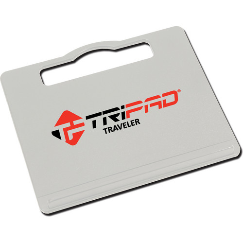 Tripad Traveler Portable Workspace for Laptop Computers (Grey)