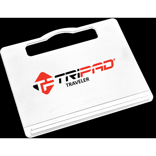 Tripad Traveler Portable Workspace for Laptop Computers (White)