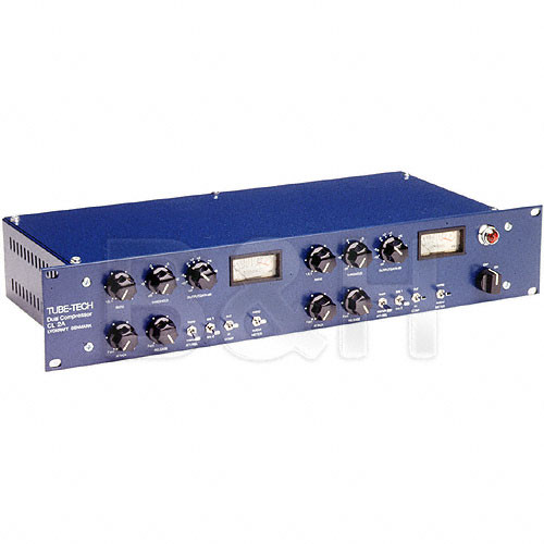 TUBE-TECH CL2A - Dual Channel Opto-Cell Tube Compressor