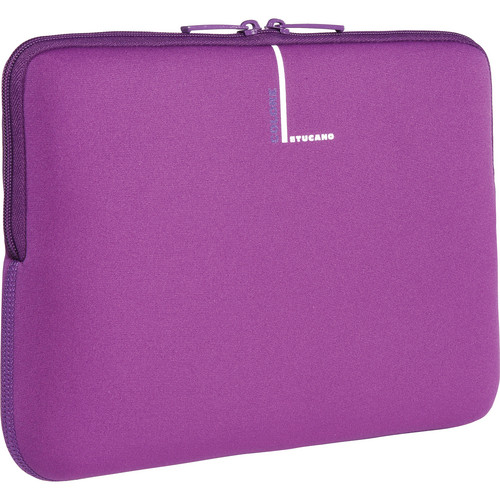 """Tucano Colore Laptop Sleeve for Many 10-11.1"""" Netbooks (Purple)"""