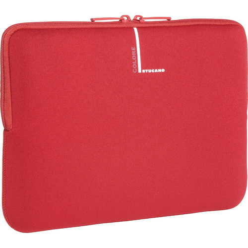 "Tucano Colore Laptop Sleeve for Many 10-11.1"" Netbooks (Red)"