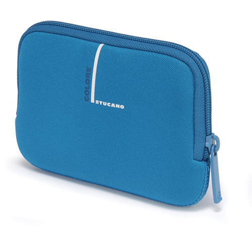 "Tucano Neoprene Colore Case for 2.5"" External Drives (Blue)"