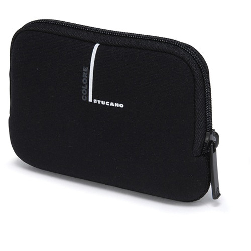 "Tucano Neoprene Colore Case for 2.5"" External Drives (Black)"