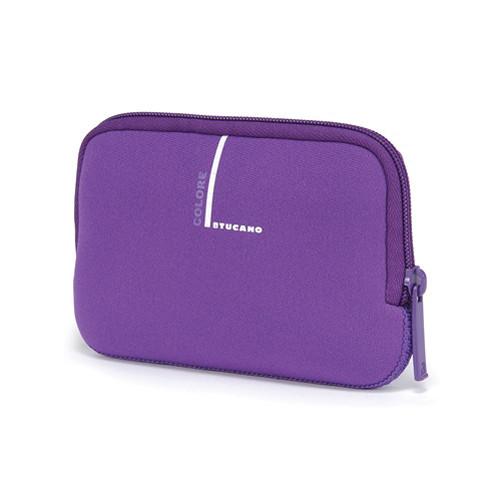 "Tucano Neoprene Colore Case for 2.5"" External Drives (Purple)"