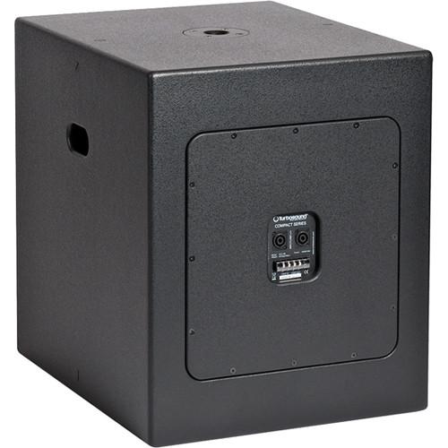 "Turbosound TCX-18B 18"" Bandpass Subwoofer (Black)"