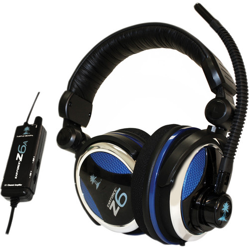 Turtle Beach Ear Force Z6A Gaming Headset with Multi-Speaker 5.1 Surround Sound