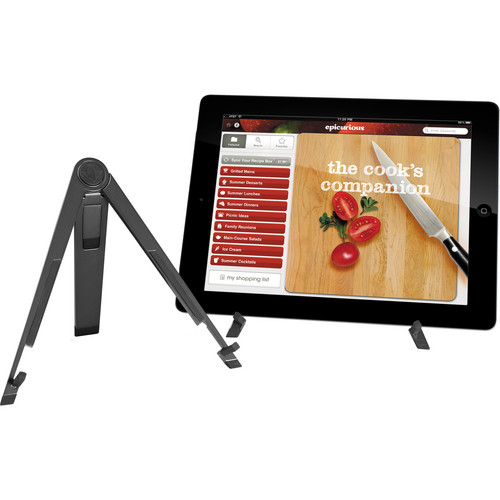 Twelve South Compass Mobile Stand for iPad 1st - 4th Generation, Air & mini (Tactical Black)