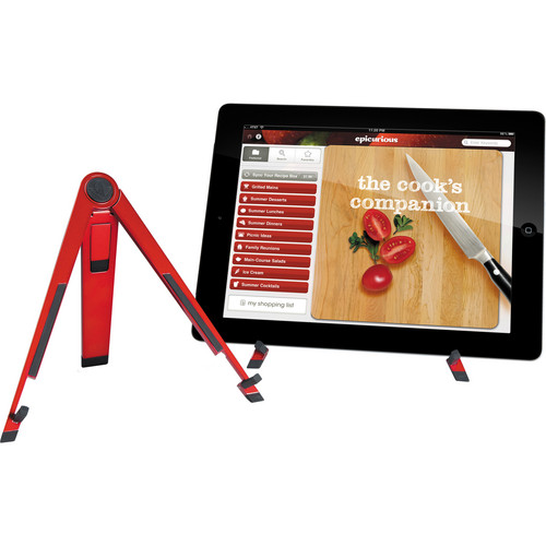 Twelve South Compass Mobile Stand for iPad 1st - 4th Generation, Air & mini (Candy Apple Red)