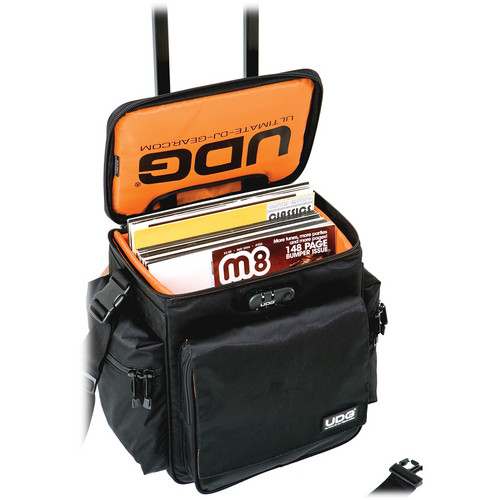 UDG SlingBag Trolley Deluxe (Black Exterior, Orange Interior)