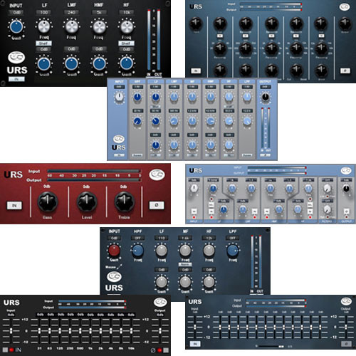 URS Everything EQ Bundle v4.0.1 (Native) - ELECTRONIC DOWNLOAD