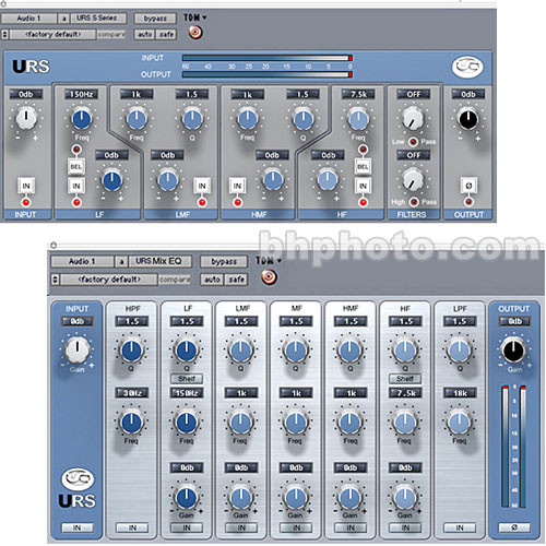 URS S Series Classic Console Equalizer (Native) - ELECTRONIC DOWNLOAD