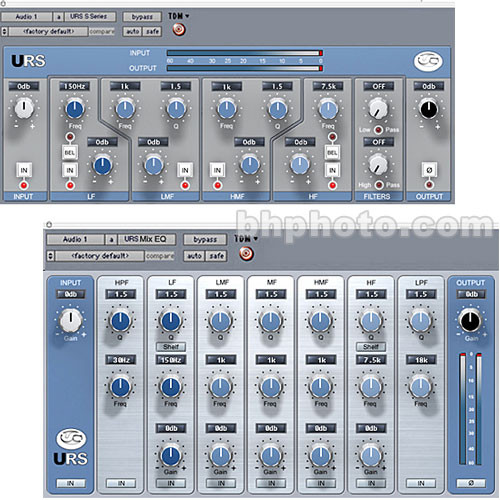 URS S Series Classic Console Mix Equalizer and URS MIX EQ (TDM) - ELECTRONIC DOWNLOAD