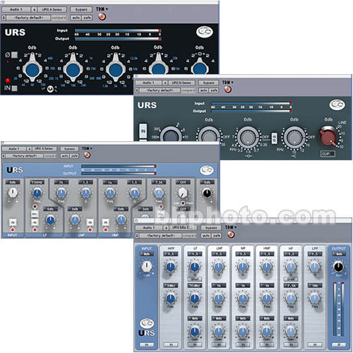 URS Classic Console EQ Bundle w/S Series (TDM) - ELECTRONIC DOWNLOAD