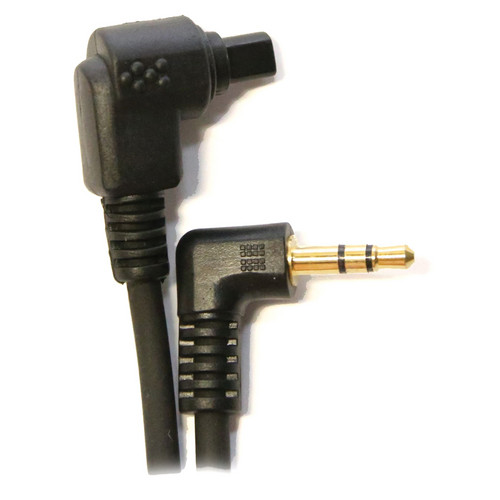 Ubertronix RS80-N3 Camera Cable for Canon 3-Pin Cameras