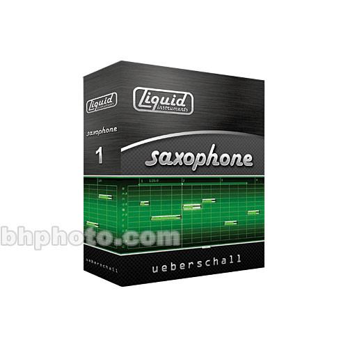 Ueberschall Liquid Saxophone - Liquid Instrument Series Volume 1