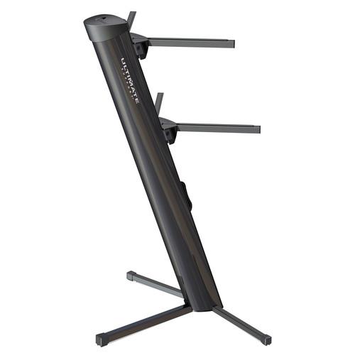 Ultimate Support 11556 AX-48B Apex Column Keyboard Stand (Matte Black)