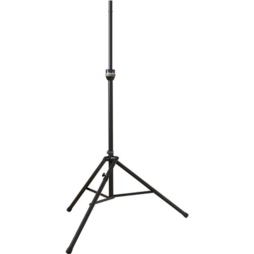 Ultimate Support TS-99BL Aluminum Speaker Stand with Leveling Leg (Matte Black)