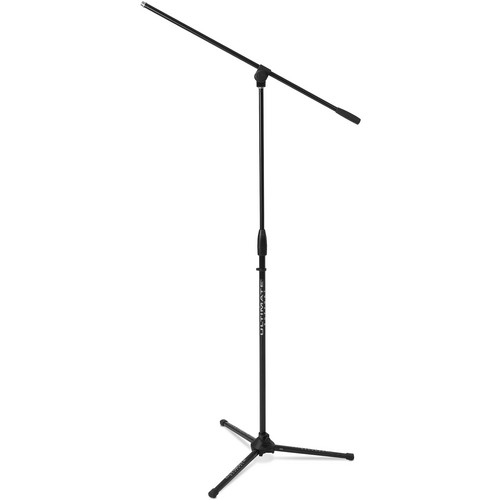 Ultimate Support MC-40B Classic Series Original Design Tripod Mic Stand with 3-Way Adjustable Boom
