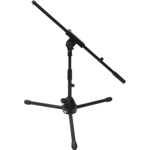 Ultimate Support JS-MCFB50 Low-Level Tripod Mic Stand with Fixed Boom